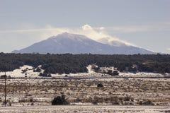I picchi dello Spagnolo in Colorado Fotografia Stock