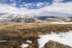 Inverno dell'alta montagna nelle montagne occidentali Immagini Stock Libere da Diritti