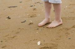 I piedi del bambino Fotografia Stock Libera da Diritti
