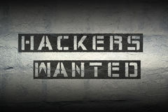 I pirati informatici hanno voluto il gr Fotografie Stock Libere da Diritti