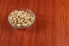 I pistacchi si chiudono su Sano, naturale fotografie stock libere da diritti