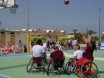 I-Play Wheelchair Basket 2016 - final match Stock Image