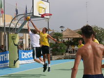 I-Play 3X3 Beach Basket 2016 Royalty Free Stock Images