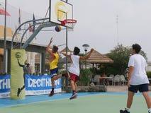 I-Play 3X3 Beach Basket 2016 Royalty Free Stock Photography