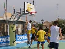 I-Play 3X3 Beach Basket 2016 Royalty Free Stock Photos