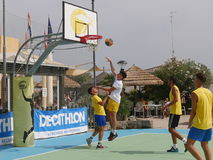 I-Play 3X3 Beach Basket 2016 Stock Photography