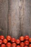 I pomodori ciliegia Fotografia Stock