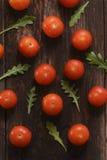 I pomodori ciliegia Fotografia Stock Libera da Diritti