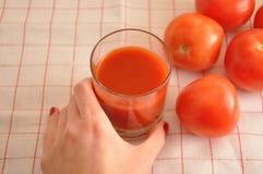 I pomodori rossi Immagini Stock