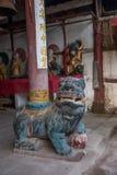 I ponti antichi del ponte star diretto a nord capo vicino al tempio di Qinghua ---- Tempio Immagine Stock Libera da Diritti