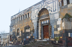 I portoni di Alaeddin Citadel in Konya fotografia stock