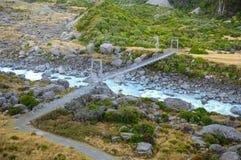 I posti di paradiso in Nuova Zelanda/supporto del sud cucinano National Park Immagini Stock Libere da Diritti