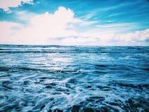 I poteri degli oceani Fotografia Stock Libera da Diritti