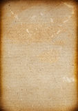 I precedenti in bianco di vecchio menu con l'annata Fotografie Stock