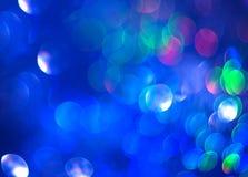 I precedenti blu unfocused di luminosità astratta immagine stock libera da diritti