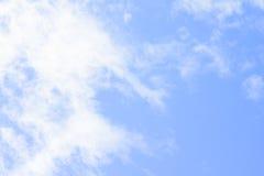 I precedenti dell'estratto del cielo blu Fotografie Stock Libere da Diritti