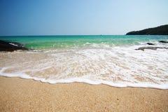 I precedenti della spiaggia Fotografie Stock Libere da Diritti
