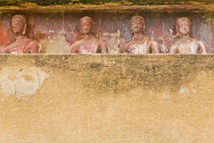 I precedenti delle immagini di Buddha Fotografie Stock Libere da Diritti