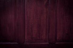 I precedenti di legno scuri della parete immagine stock libera da diritti