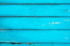 I precedenti di legno strutturati blu luminosi Fotografia Stock Libera da Diritti