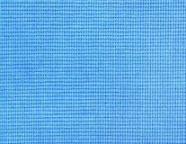 I precedenti di tessuto blu fotografie stock
