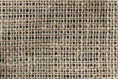 I precedenti di un tessuto di tela Fotografia Stock