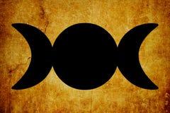 I precedenti magici dell'annata di simboli di simbolo della pecora vecchia illustrazione di stock