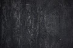 I precedenti neri strutturati concreti della parete di pietra Fotografie Stock Libere da Diritti