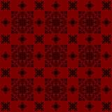 I precedenti rossi della carta da parati di stile dell'annata di disegno Fotografia Stock Libera da Diritti