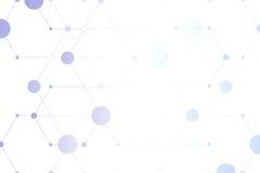 I precedenti virtuali di tecnologia Immagine Stock Libera da Diritti
