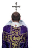 I preti cattolici pregano Fotografia Stock Libera da Diritti