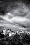By i Provence Arkivfoton