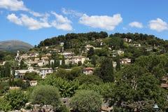 By i Provence, Frankrike Arkivbilder