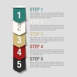 I punti delle frecce progettano il modello Immagini Stock Libere da Diritti