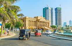 I punti di riferimento di Colombo Fotografia Stock