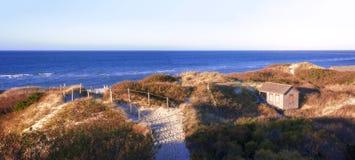 I punti tirano la vista in secco, Nantucket fotografia stock libera da diritti