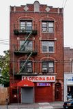 I Queens NY arkivbild