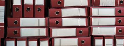 I raccoglitori archivano, Ring Binders, burocrazia fotografia stock libera da diritti