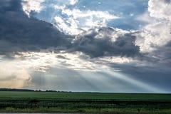 I raggi del ` s del sole da Immagine Stock Libera da Diritti
