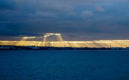 I raggi di Sun molto stanno ispirando Fotografia Stock Libera da Diritti