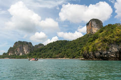 I rai orientali pongono la spiaggia, Krabi, Tailandia Fotografia Stock Libera da Diritti