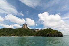 I rai orientali pongono la spiaggia, Krabi, Tailandia Fotografie Stock