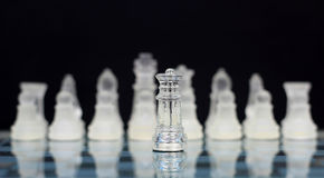 I re - guerra di scacchi Immagini Stock Libere da Diritti