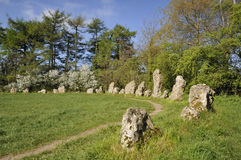 I re Men Stone Circle Fotografia Stock