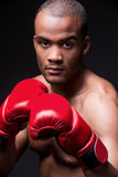 I am ready to fight! Royalty Free Stock Images