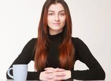 I am ready to talk, subordinate communication (Body language, ge. Stures, psychology Stock Photos