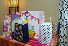 I regali di compleanno sono stati avvolti Fotografia Stock Libera da Diritti