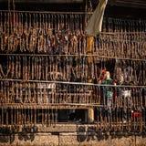 I residenti nel sud del fiume Chang Jiang stanno preparando per il festival di primavera Fotografia Stock Libera da Diritti