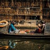 I residenti nel sud del fiume Chang Jiang stanno preparando per il festival di primavera Immagini Stock