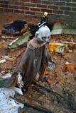 I residui di Halloween sparpagliano la terra Fotografia Stock